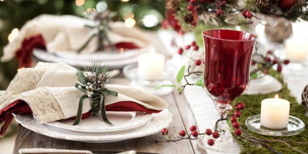 Come apparecchiare la tavola a Natale: alcune idee