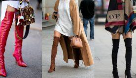 Stivali alti, la moda dell'autunno/inverno 2020/2021