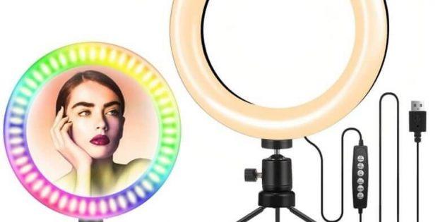 Luce per selfie, i modelli migliori che si trovano in commercio